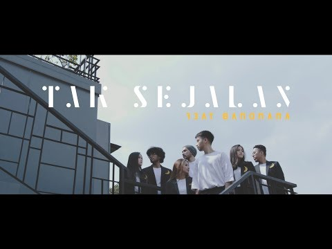 Vidi Aldiano - Tak Sejalan feat. Bandnana (4K Official Music Video)