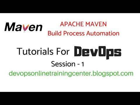 Maven Tutorials For Beginners | DevOps In Apache Maven Repository 1