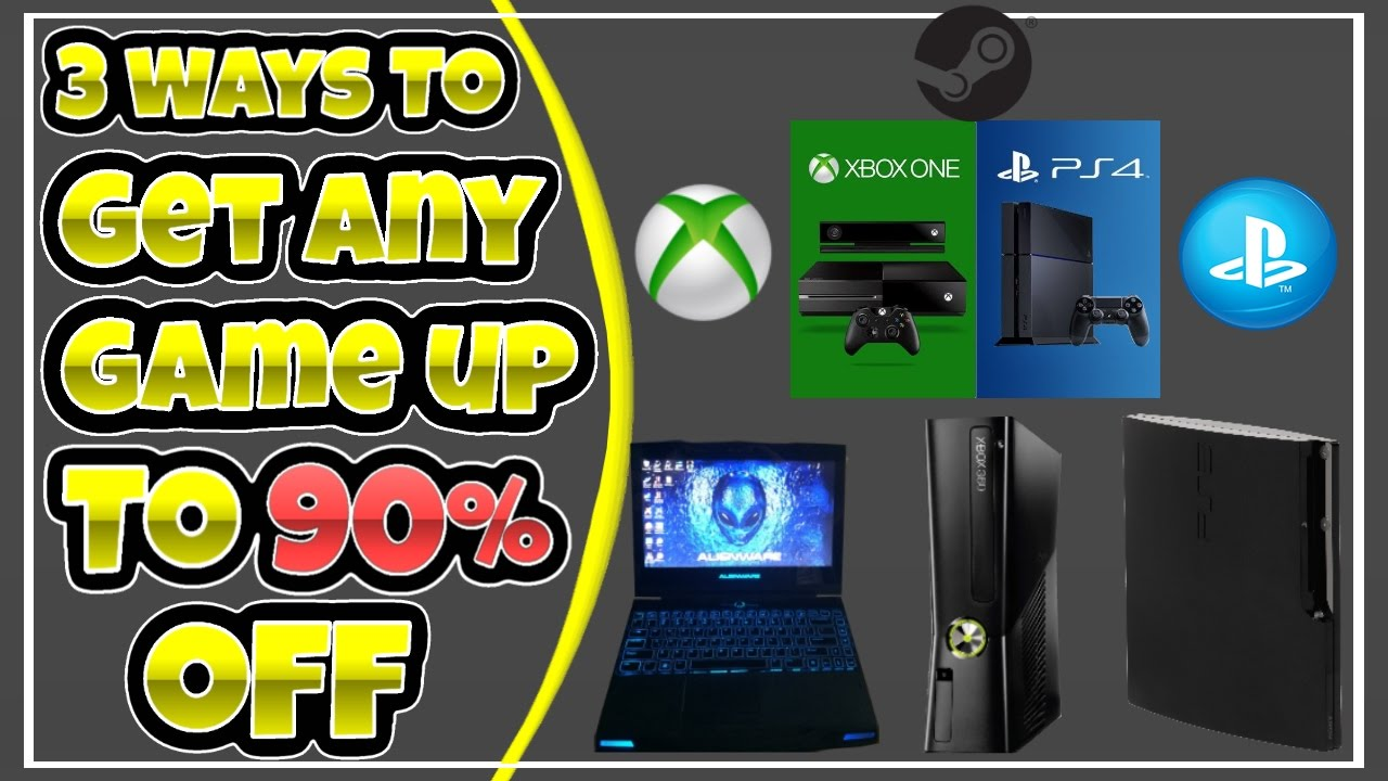 Get Off The Playstation 3 : Ways to get new aaa steam ps xbox one