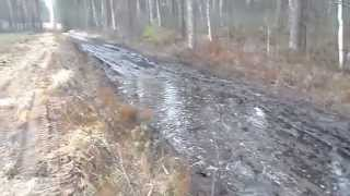 Audi 100 22 turbo quattro off-road and acceleration