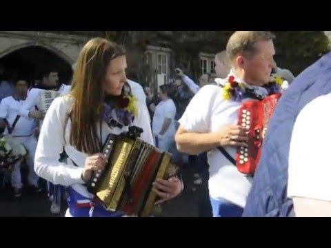 Padstow Obby Oss - May Day 2016