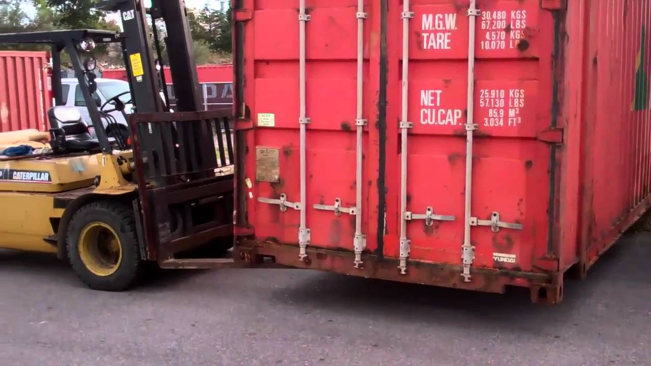 Shipping Containers Are Easy To Move