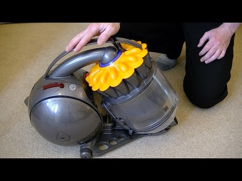 Dyson DC28c Multi Floor Cylinder Vacuum Cleaner Demonstration & Review