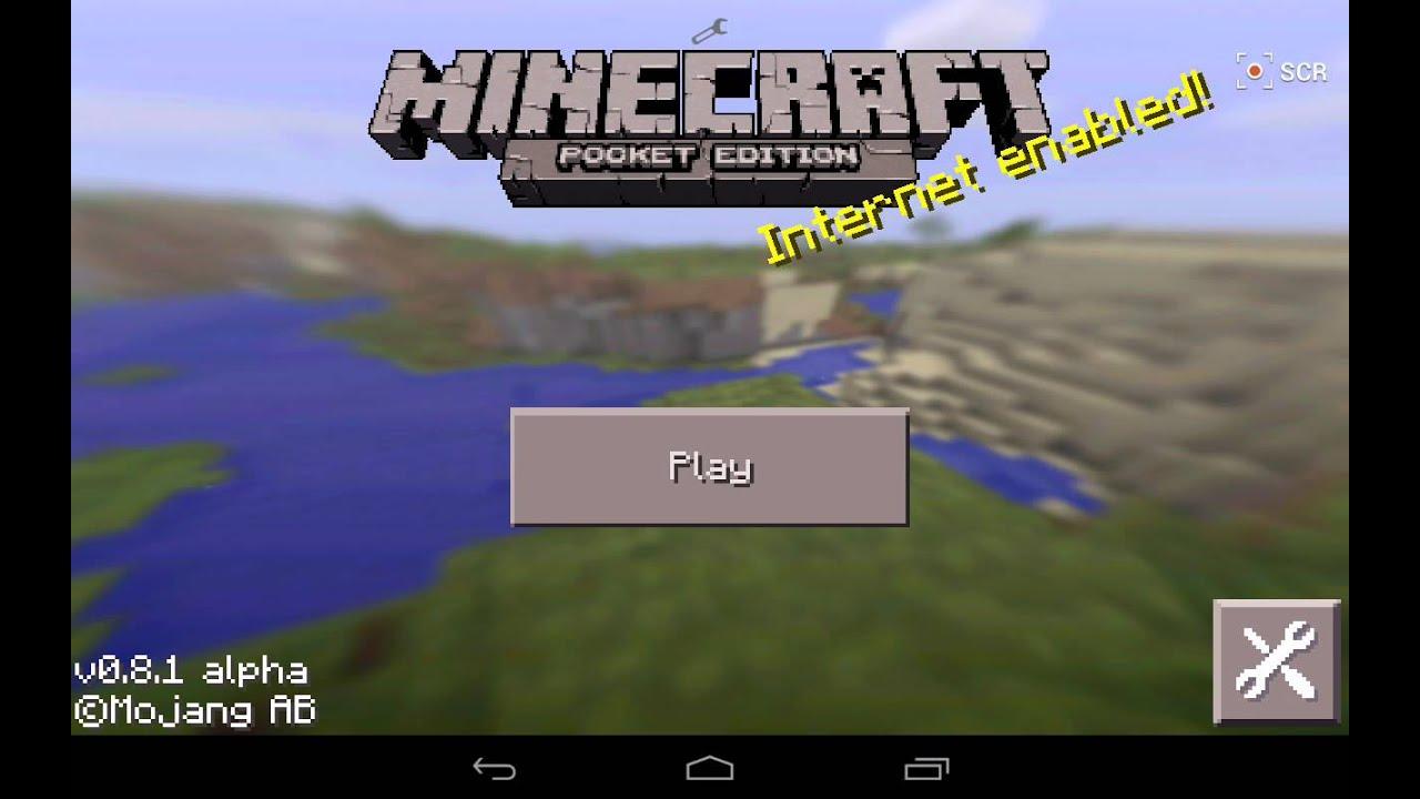 Minecraft - Pocket Edition скачать 1.2.9.1 + МОД на Android