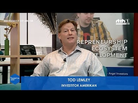 Todd Lemley, Entrepreneur in Residence at Oficina, for Albanian National Television