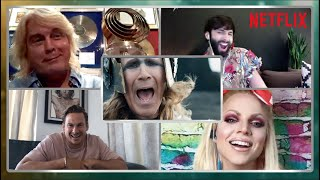 Legendary Eurovision Contestants Watch The Netflix Movie (feat Conchita, Blue, Courtney Act & more)