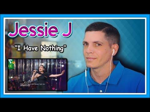 "Jessie J Reaction   Karaoke Champ Reacts to Jessie J ""I Have Nothing"""