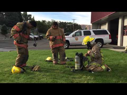 Fire Science Students enrolled at Wenatchee Valley Technical Skills Center
