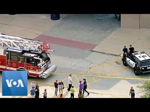 Chicago: SUV Crashes, Rolls Through US Mall