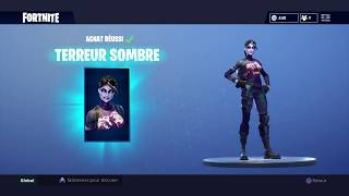 I'm BUYING THE SKIN TERREUR SOMBRE! FORTNITE