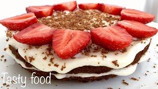 Торт для ленивых ЗА 3 МИНУТЫ на скорую руку! Это Реально Вкусно и Быстро!