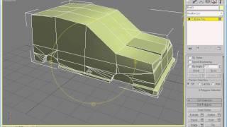 Araba Modelleme  -  3ds Max Dersleri Videolu Anlatım Dersi 21