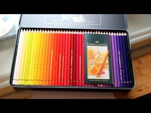 prismacolor vs faber castell polychromos colored pencils w. Black Bedroom Furniture Sets. Home Design Ideas