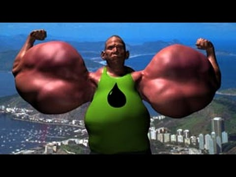 Biggest Biceps Ever - YouTube