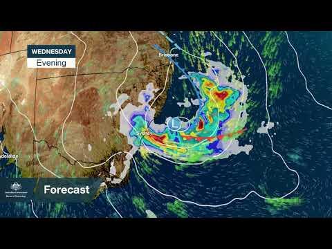 BoM Weather Pattern For Sydney, Nov 28, 2018