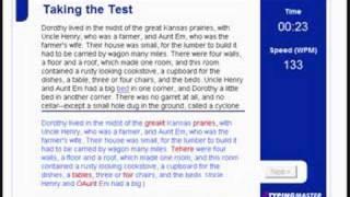 Typing Test--129 WPM