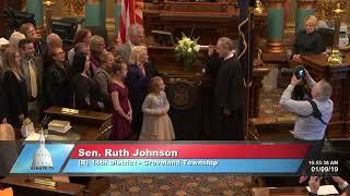 Sen. Johnson sworn in as Michigan senator