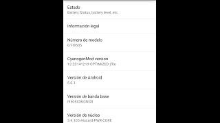 Cyanogenmod12 Lollipop 5.0.1 Galaxy S4