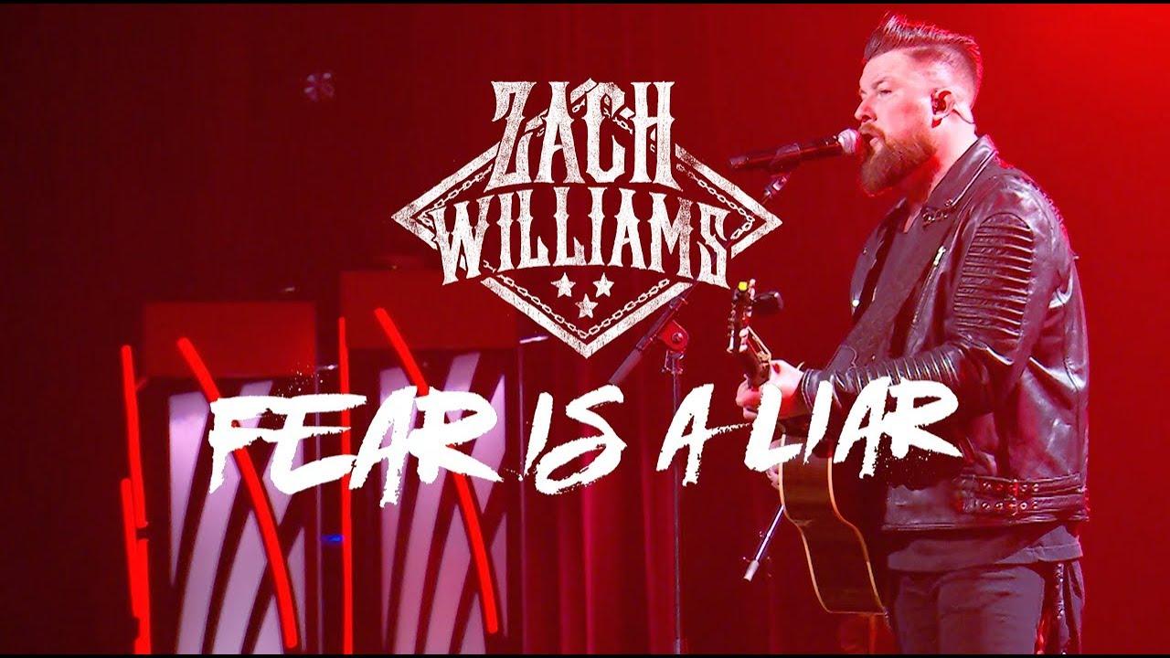"""Zach Williams - """"Fear Is a Liar"""" Live - K-LOVE Fan Awards 2018 - YouTube"""