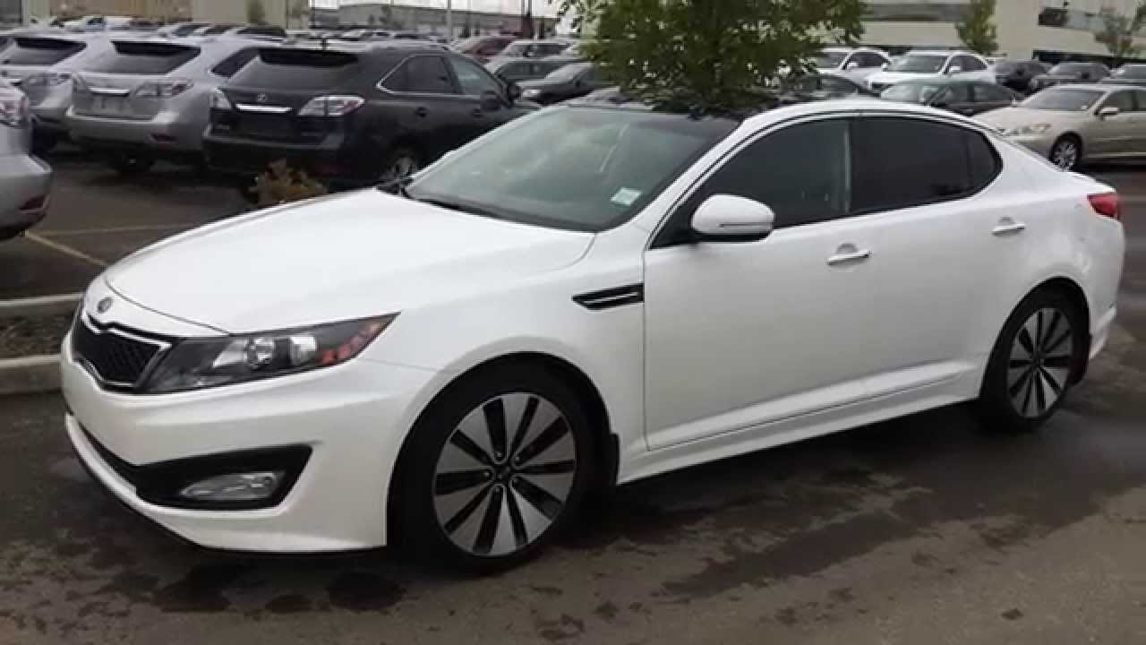 Pre Owned White 2012 Kia Optima 4dr Sdn Auto Sx T Gdi