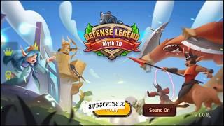 Defense Legend Myth TD Gameplay Walkthrough (Android,iOS)