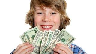 Как дети могут зарабатывать деньги