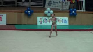 Ana Luiza Filiorianu cupa Burgas 2009-gimnastica ritmica,aur la fara obiect