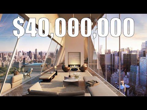 Inside a $40 Million Penthouse Overlooking Billionaires' Row