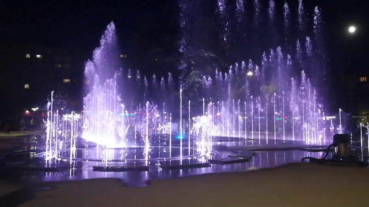 ВКалининграде открылся крупнейший вСЗФО светомузыкальный фонтан
