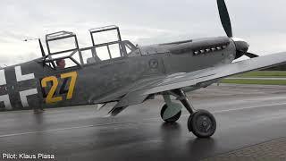 Bf-109 G12 Buchon/Hispano Aviación HA-1112 - Low & Loud