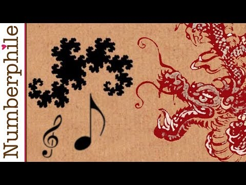 Dragon Curve to Music - Numberphile
