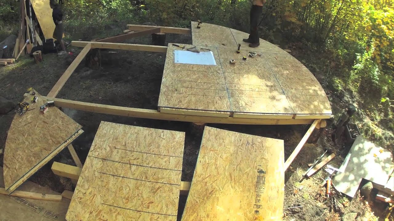 20ft Sip Yurt Platform Youtube