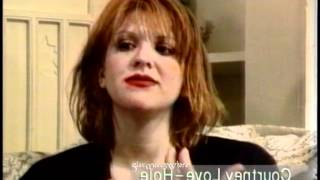 Courtney Love - HOLE - Interviews + Live Clips from '91 - '92 - '93