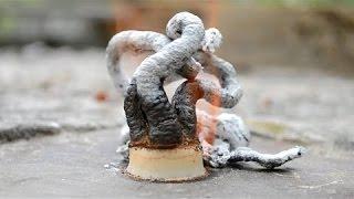Выращиваем огненную змею Химические опыты в домашних условиях -