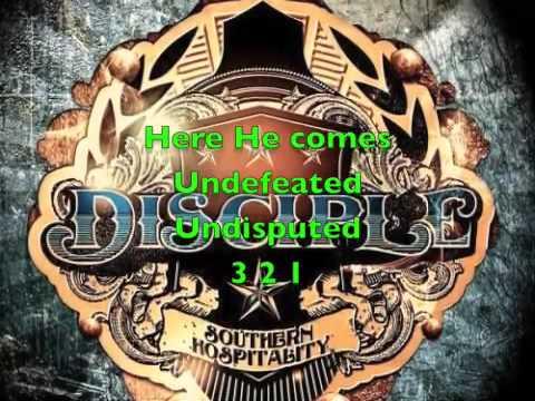Disciple- 321 + lyrics