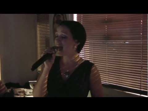 "Christina Lawler Singing Train ""Hey Soul Sister"" Karaoke 8-4-2011"