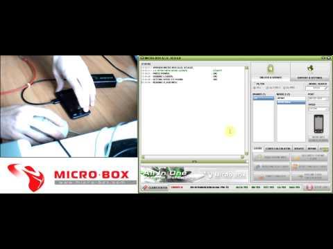 LG KP501 Read codes with Micro-Box - www.micro-box.com