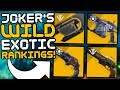 Destiny 2 - Ranking All 50 Exotic Weapons!! (Joker's Wild)