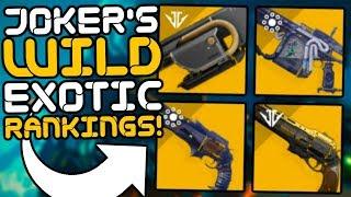 Destiny 2 - Ranking All 50 Exotic Weapons!! (Joker's Wild)