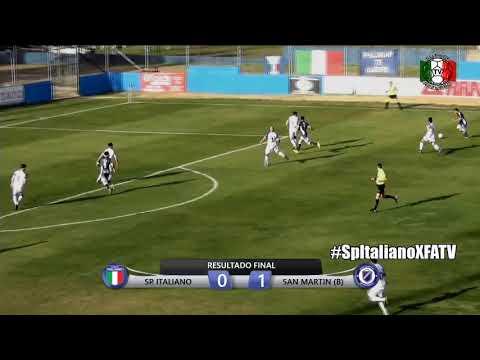 Sp. Italiano vs San Martín (B) En Vivo * Fecha 5 * Primera C 2019/20