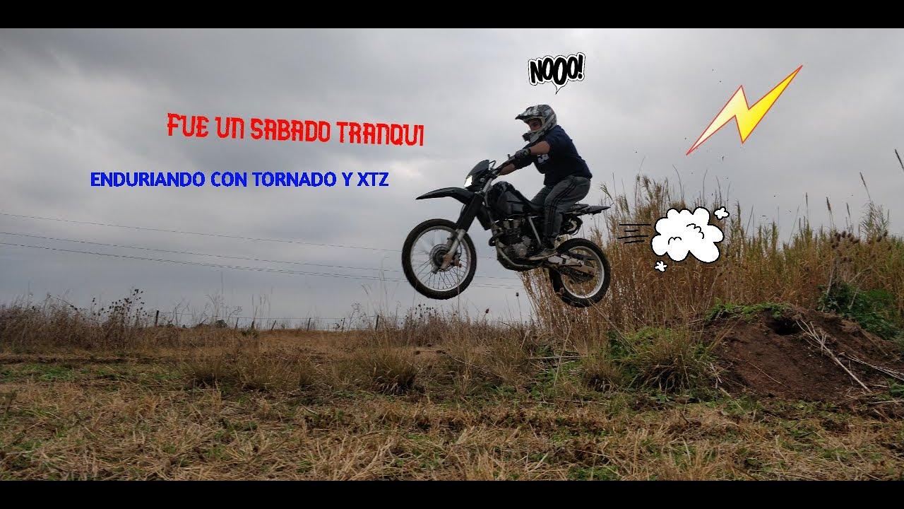 Motovlog #2 enduriando y whelleando con tornado y xtz