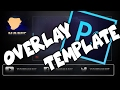 FREE Stream Overlay Template - League of Legends - |PhotoshopTimelapse|