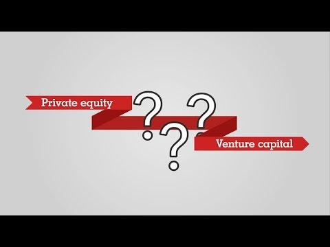 Wat zijn private equity en venture capital?