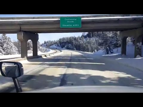 BigRigTravels LIVE! Butte to Bozeman, Montana Interstate 90 East-Feb. 19, 2018