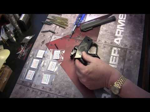 Thompson Contender TC disassembly & reassembly & spring kit install
