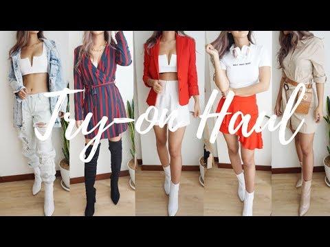 Fashion Try-on Haul Ft. Zalora
