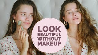 How To Look Beautiful Without Makeup | Model Tips for Summer