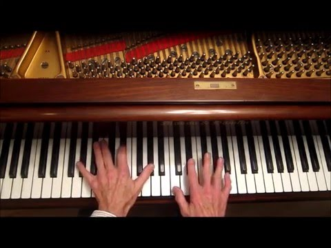 How To  Play Pop Piano Linus & Lucy  Hand Independance & Coordination, Piano Tutorial