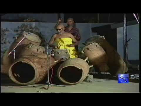 "G.B.T.V. CultureShare ARCHIVES 2000: GHANABA  ""The Devine Drummer""  Part #3 of ..  (HD)"