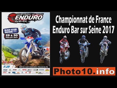 Bar sur Seine - Championnat de France enduro 2017